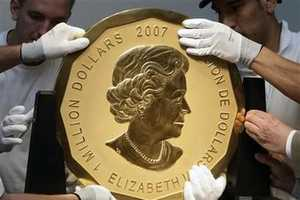 World's Biggest Gold Coin Auctioned for More than $4 Million
