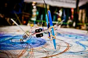Kids Create Robotic Spirographs and Call Them Petbots