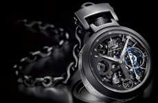 Ball 'n' Chain Timepieces - The Pinnifarina Bovet Ottana Tourbillon Watch is Two Watches in One