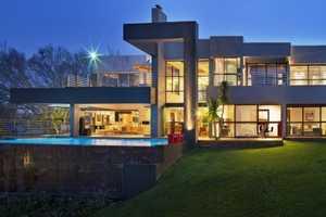 House in Bryanston by Nico Van Der Meulen Architects Dazzles in South Africa
