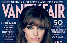 Angelina Jolie Opens up for Vanity Fair