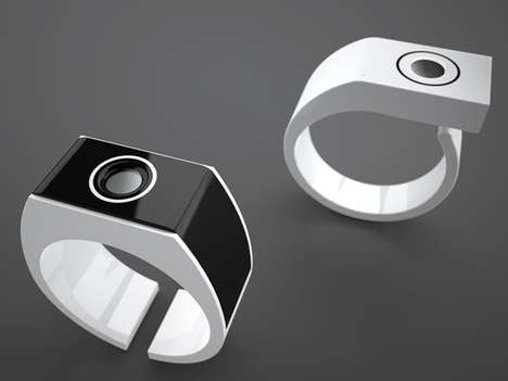 UV Ray Rings - 'Marcus' from Julien Bergignat Monitors the Effects of the Sun on Your Skin