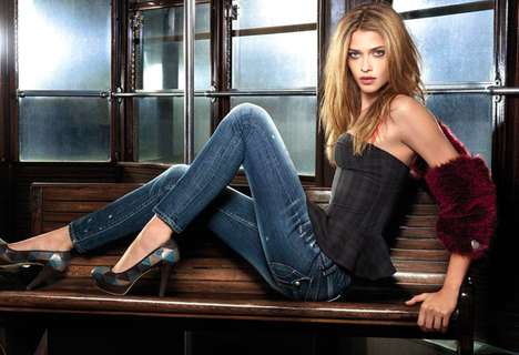 Ana Beatriz Barros Fornarina Autumn 2011