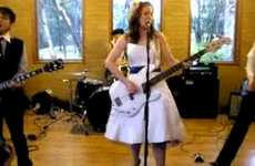 One Couple Forgoes Hiring a Wedding Band & Does it Themselves