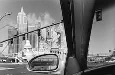 Car Culture Photo Books - Lee Friedlander's 'America by Car' is a Photographic Road Trip