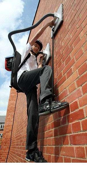 Real Life Spiderboys - Hibiki Kono Invents an Amazing Device to Climb Walls