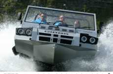 Amphibian 4x4s - The Humdinga Truck Boat