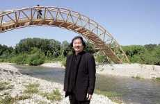 Cardboard Bridges - Japanese Architect's Eco-Friendly Bridge in France
