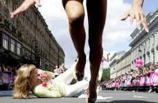 Stiletto-Wearing Sprinters