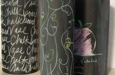 Chalkboard Vases - Too Cool For School