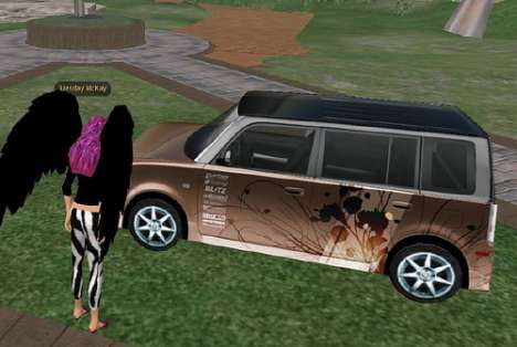 Virtual World Marketing - Toyota Scion Makes 4th Virtual Debut
