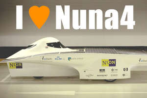 Dutch Enter Panasonic World Solar Challenge