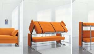 Sofa That Morphs Into Bunk Bed