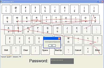 Too Lazy to Type?  Just Stare at Your PIN