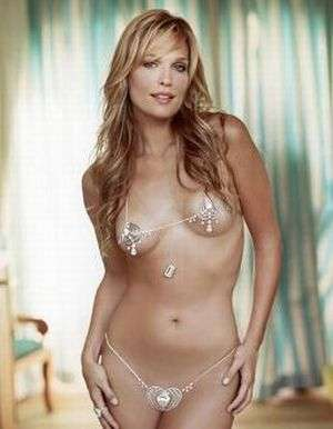 $30 Million Bikini - Molly Sims Models Luxury Swimwear