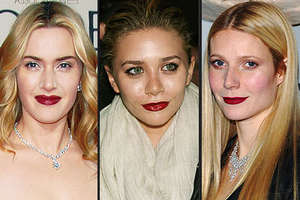 Red Lips Fall Into Fashion