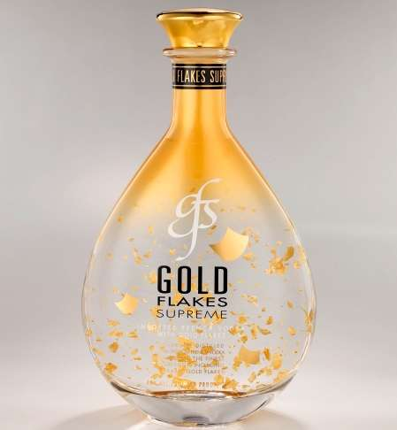 Luxury Liquor Secrets - Gold Flakes Vodka Has the Midas Touch