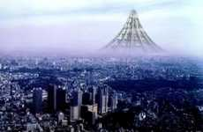 Japan Plans World's Tallest Building - X-Seed 4000