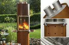 Flavor-Infusing BBQs - The Ascot Wood-Burning Barbecue Gives Food a Smoky Scent