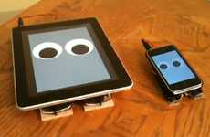 Apple Gadget Robots - The Walking iPad and iPhone Devices Bring Your Gadgets to Life