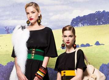 Twin Fashiontography - The Prada Cruise 2011 Collection Has a Classic Country Touch
