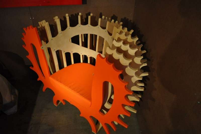 Spiked Lounge Chairs
