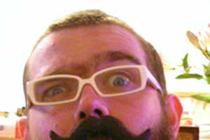 Chocolate Mustache on a Stick is Sugary Fun