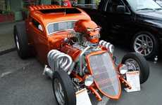 Nightmarish Roadsters - The Spooky Defibrillator Car's Skull Exhales Nitrous