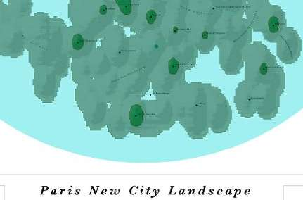 Twitter Topography - These New City Landscape Maps Use 'Tweetography' to Plot Density