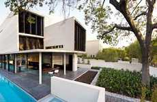 Modern Geometric Homes - The Verdant Avenue House by Robert Mills Architects is a Masterpiece