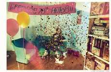 Confetti-Flinging Photography