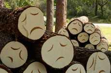 Depressed Tree Art