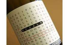 28 Witty Wine Labels - From Braille Wine Bottles to Crossword Puzzles on Labels
