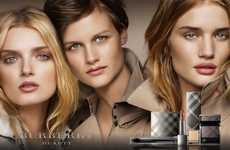 Top Model Cosmetics Ads - Burberry 'Beauty Beauty' Fall 2010 Campaign Has Three Famous Faces