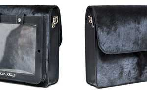 The iPad Pony Bag Features a Special Sleeve for Your Touchscreen