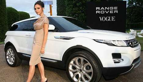 Victoria Beckham and Rolls Royce