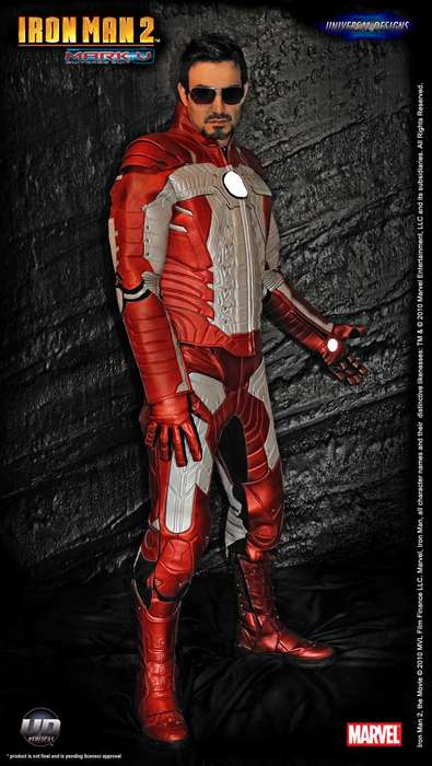IRON MAN Mark V Motorcycle Suit