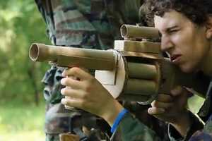 The Cardboard Warfare Video Fights With Harmless Biodegradable Weapons
