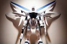 Giant Papercraft Robots