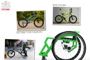 The Jovan De La Vega HXC Wheelchair Makes Skateparks Accessible