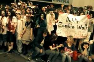 The Dulbin Zombie Walk Brings Teens Together for a Good Cause