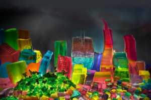 Liz Haycock Makes San Fransisco Entirely out of Jelly