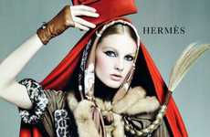 Haute Red Riding Hoods  - The 'Brand New Day' Editorial in Vogue Nippon