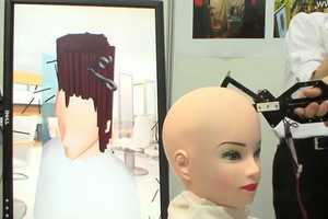 The 'Air Hair' Haircut Simulator Lets Newbie Barbers Practice