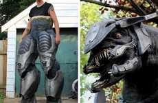 Check out this Stunning Animatronic Halo Elite Costume