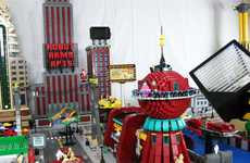 Toy Brick TV Replicas - The LEGO Futurama Model Celebrates the Canceled Cartoons Revival