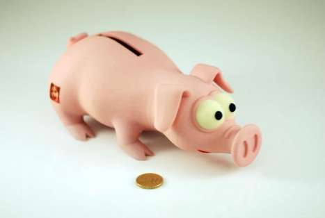 Shapeways Money Pig