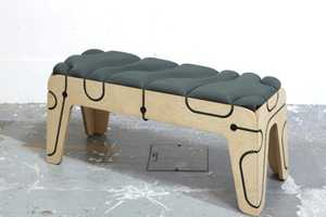 Tensile Furniture from Yoac Roches is Bound Together by Rope