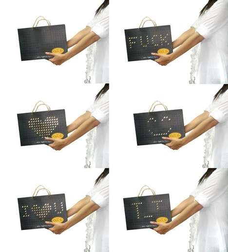 Interactive Shopping Bags - The Kokoa Hut Bag Makes Shopping a Personalized Experience