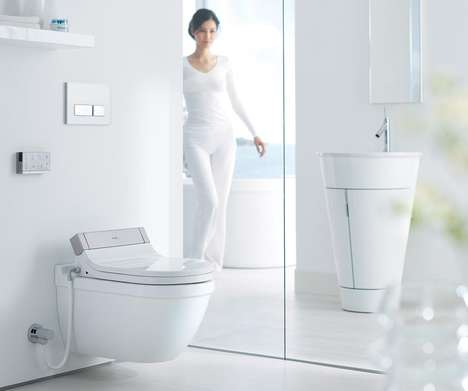 Remote Control Toilets - The Sensowash Starck from Philippe Starck is Tech-Savvy